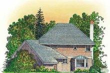 Dream House Plan - Victorian Exterior - Rear Elevation Plan #1016-78