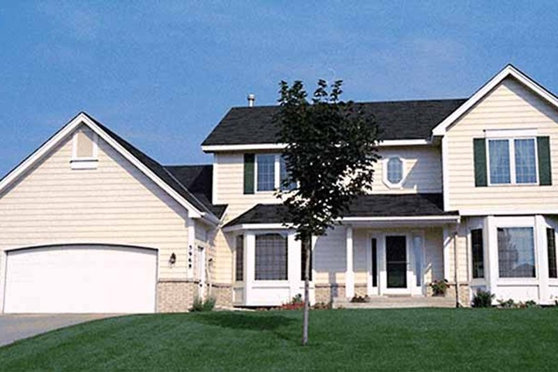 Country Exterior - Front Elevation Plan #51-720