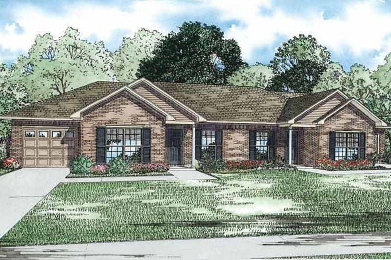 Dream House Plan - Traditional Exterior - Front Elevation Plan #17-3334