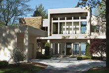Contemporary Exterior - Front Elevation Plan #928-77