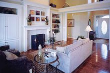 Craftsman Interior - Family Room Plan #46-655
