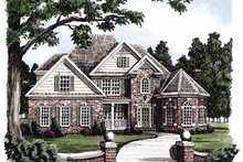 House Design - Colonial Exterior - Front Elevation Plan #927-379