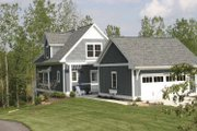 Traditional Style House Plan - 2 Beds 1.5 Baths 1453 Sq/Ft Plan #928-109 Exterior - Front Elevation