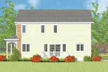 House Plan Design - Country Exterior - Other Elevation Plan #72-1113