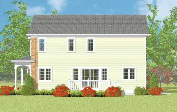 Country Floor Plan - Other Floor Plan Plan #72-1113