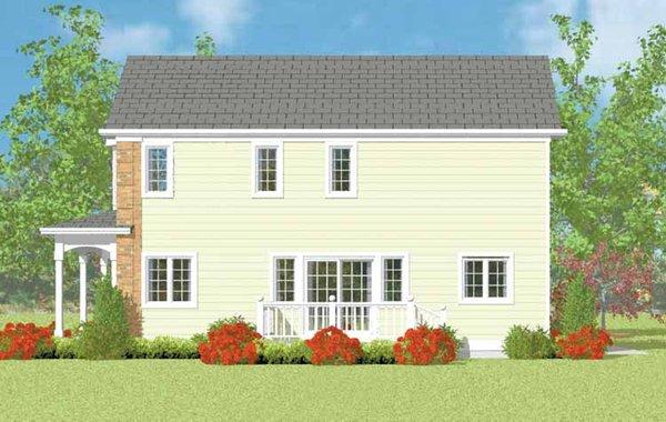 Country Floor Plan - Other Floor Plan Plan #72-1113