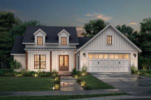 Farmhouse Exterior - Front Elevation Plan #430-250