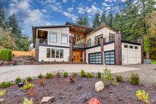 Home Plan - Contemporary Exterior - Front Elevation Plan #1066-24