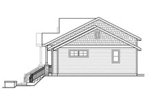 House Plan Design - Craftsman Exterior - Other Elevation Plan #124-1076