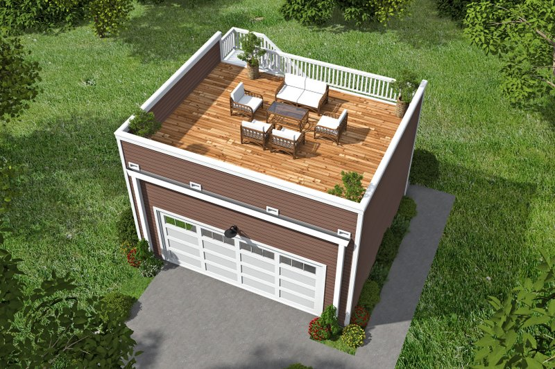 Home Plan - Contemporary Exterior - Front Elevation Plan #932-231