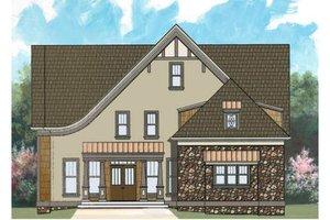 House Design - European Exterior - Front Elevation Plan #119-329