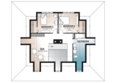 Country Style House Plan - 3 Beds 2 Baths 2299 Sq/Ft Plan #23-2091 Floor Plan - Upper Floor