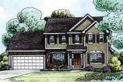 Traditional Style House Plan - 4 Beds 2.5 Baths 2019 Sq/Ft Plan #20-2144