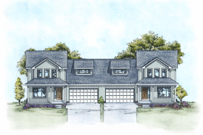 Dream House Plan - Traditional Exterior - Front Elevation Plan #20-2111