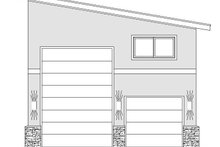 Contemporary Exterior - Front Elevation Plan #932-246