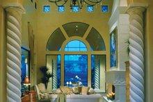 House Plan Design - Mediterranean Interior - Entry Plan #930-34