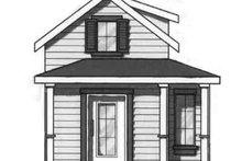 Cottage Exterior - Front Elevation Plan #23-459