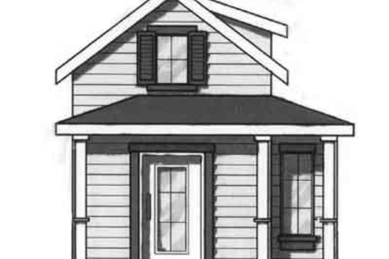 Dream House Plan - Cottage Exterior - Front Elevation Plan #23-459