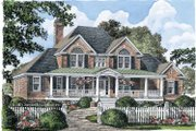 Country Style House Plan - 4 Beds 3.5 Baths 2586 Sq/Ft Plan #929-527 Exterior - Front Elevation