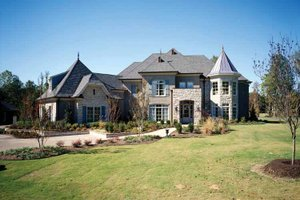Dream House Plan - Country Exterior - Front Elevation Plan #952-182