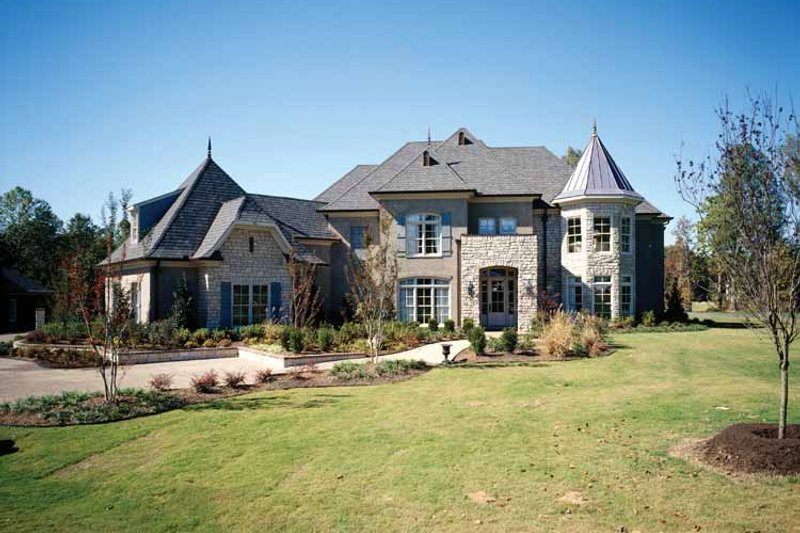 Country Exterior - Front Elevation Plan #952-182 - Houseplans.com