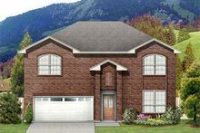 House Plan Design - Traditional Exterior - Front Elevation Plan #84-123
