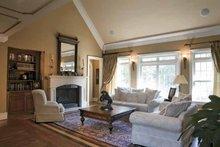 House Plan Design - Mediterranean Interior - Family Room Plan #927-202