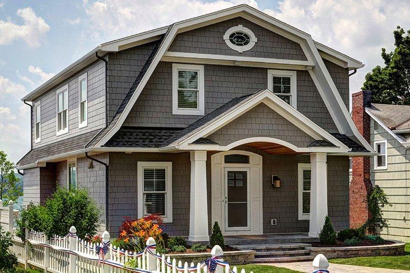 Colonial Exterior - Front Elevation Plan #1010-127 - Houseplans.com