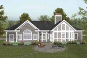 Craftsman Style House Plan - 4 Beds 2.5 Baths 2000 Sq/Ft Plan #56-689
