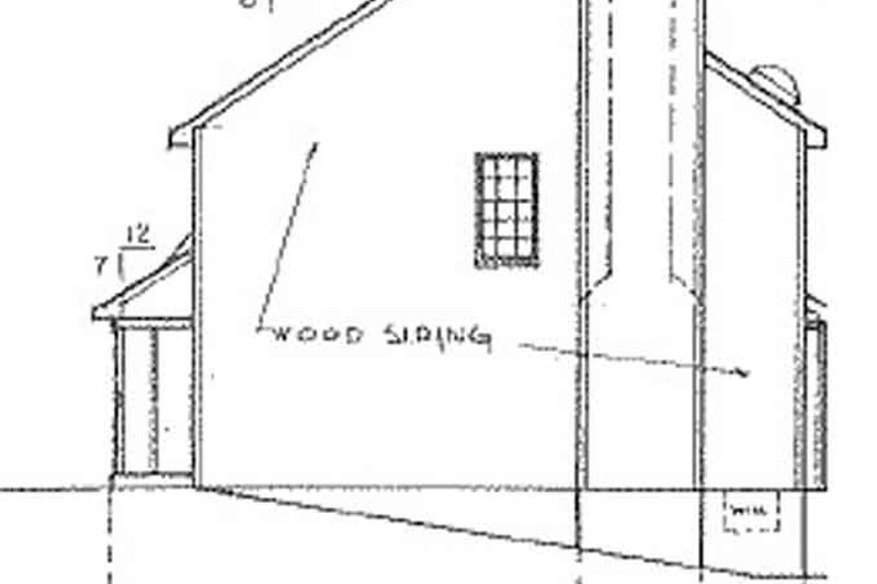 Country Exterior - Other Elevation Plan #405-314 - Houseplans.com