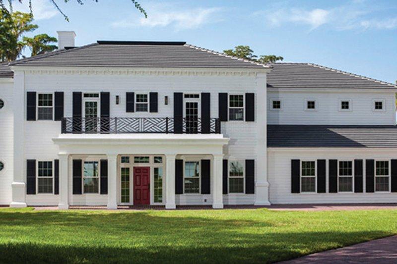 Classical Exterior - Front Elevation Plan #1058-83 - Houseplans.com