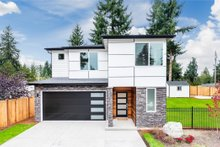 Dream House Plan - Contemporary Exterior - Front Elevation Plan #1066-88