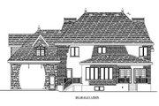 European Style House Plan - 3 Beds 2.5 Baths 2783 Sq/Ft Plan #138-337 Exterior - Rear Elevation