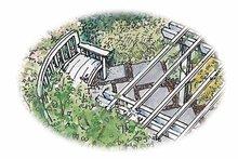 Exterior - Rear Elevation Plan #1040-138