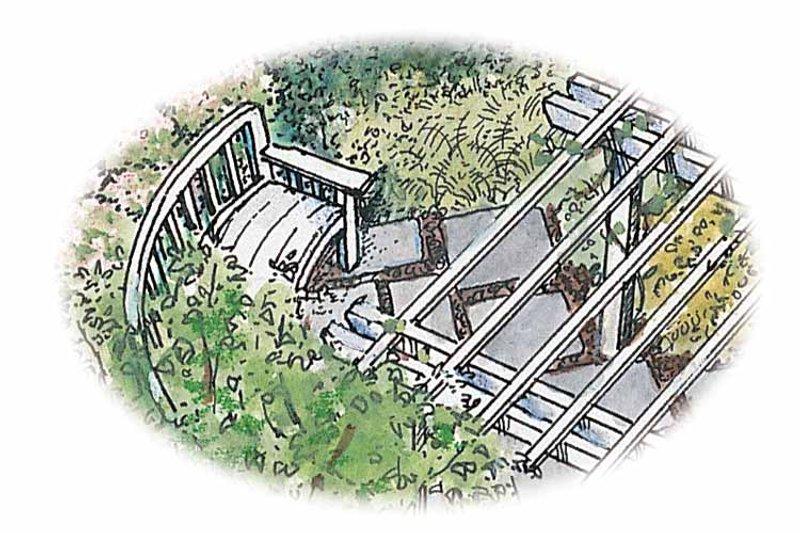 Exterior - Rear Elevation Plan #1040-138 - Houseplans.com