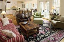 House Design - Craftsman Interior - Family Room Plan #929-754