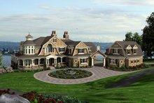 Dream House Plan - Craftsman Exterior - Front Elevation Plan #132-565