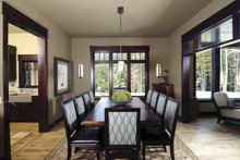 Architectural House Design - Country Interior - Dining Room Plan #928-24