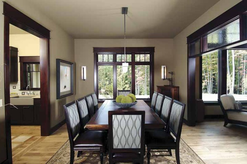 Country Interior - Dining Room Plan #928-24 - Houseplans.com