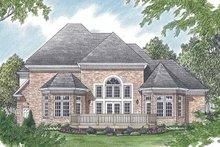 Traditional Exterior - Rear Elevation Plan #453-516
