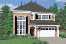 Traditional Exterior - Front Elevation Plan #509-295