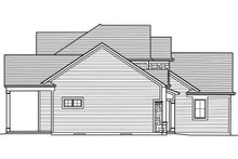 House Plan Design - Left Side Elevation