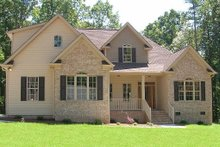 Home Plan - Traditional style, elevation