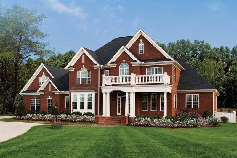 House Plan Design - Traditional Exterior - Front Elevation Plan #929-696