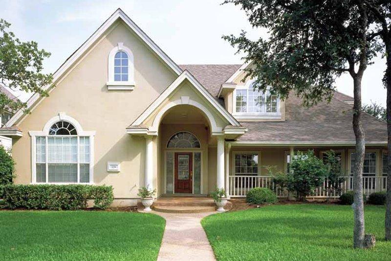 Home Plan - European Exterior - Front Elevation Plan #472-86