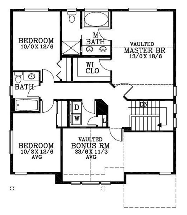 Traditional Floor Plan - Other Floor Plan Plan #53-579