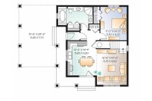 Traditional Floor Plan - Main Floor Plan Plan #23-2546