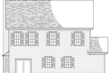 Dream House Plan - Country Exterior - Rear Elevation Plan #137-378