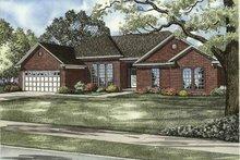 House Plan Design - Ranch Exterior - Front Elevation Plan #17-3094