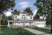 Country Style House Plan - 3 Beds 2.5 Baths 2624 Sq/Ft Plan #1042-5